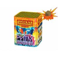 """РС605  батарея салютов РИТМ ЖИЗНИ модуль (0,8""""х16) *1/24 (шт)"""