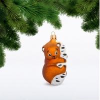 Мишка на дереве фигурка (С768)