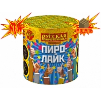 """РС693 батарея салютов ПИРО-ЛАЙК (0,7""""х10)"""