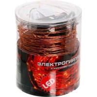 LDM100-R-C эл/гирлянда 100 красных  минидиод, с контр.