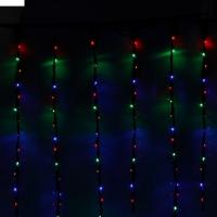 Гирлянда Дождь 2*1,5 LED-400-220V 8 режимов , мульти