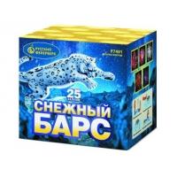 """Р7491 батарея салютов СНЕЖНЫЙ БАРС (1""""х25)"""